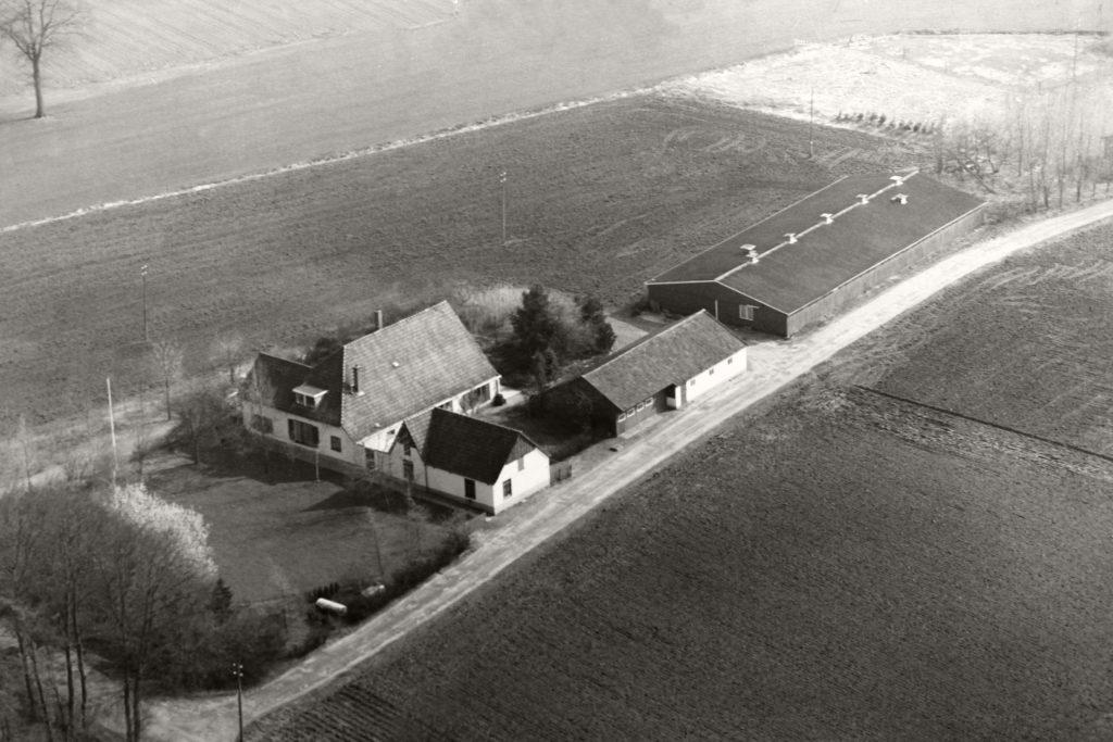 De oude boerderij, ergens in de 60'er jaren.