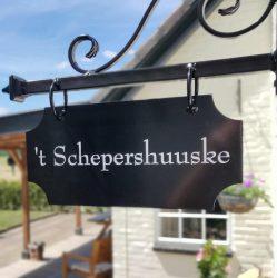 't Schepershuuske, een landelijk gelegen vakantiewoning in de Achterhoek.